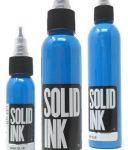 Mực xăm Solid tattoo ink màu Boca Blue  Hàng đúng gốc Solid ink USA Màu tươi sáng, rất dễ lên màu. Có chai 0.5oz 1oz 2oz 4oz