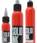 Mực xăm Solid tattoo ink màu Matte Black  Hàng đúng gốc Solid ink USA Màu tươi sáng, rất dễ lên màu. Có chai 0.5oz 1oz 2oz 4oz