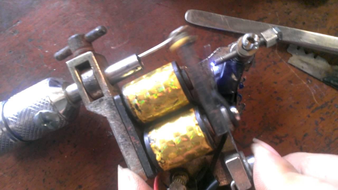 Thành phần của máy xăm hình